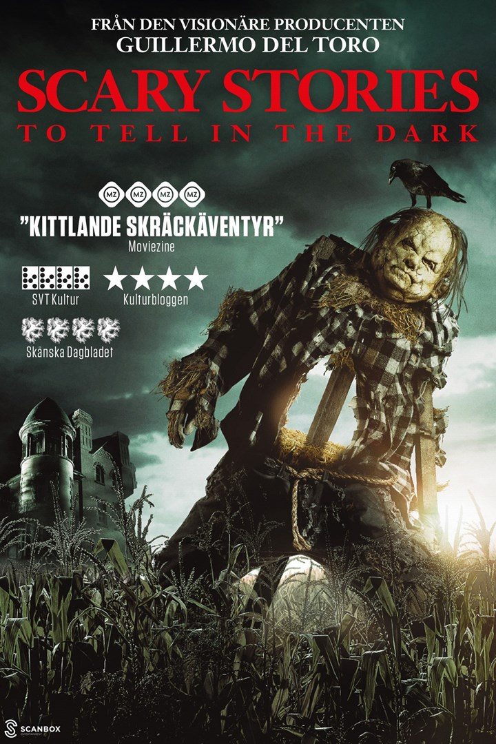 Poster för Scary Stories to Tell in the Dark som går på bio i Landskrona.